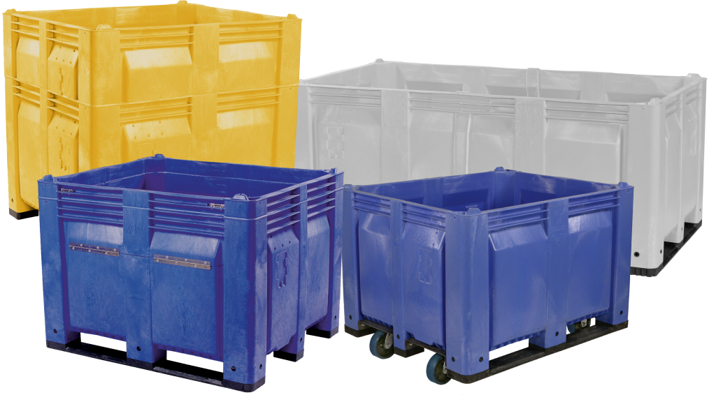 Fixed Wall Bulk Containers Custom Equipment Company