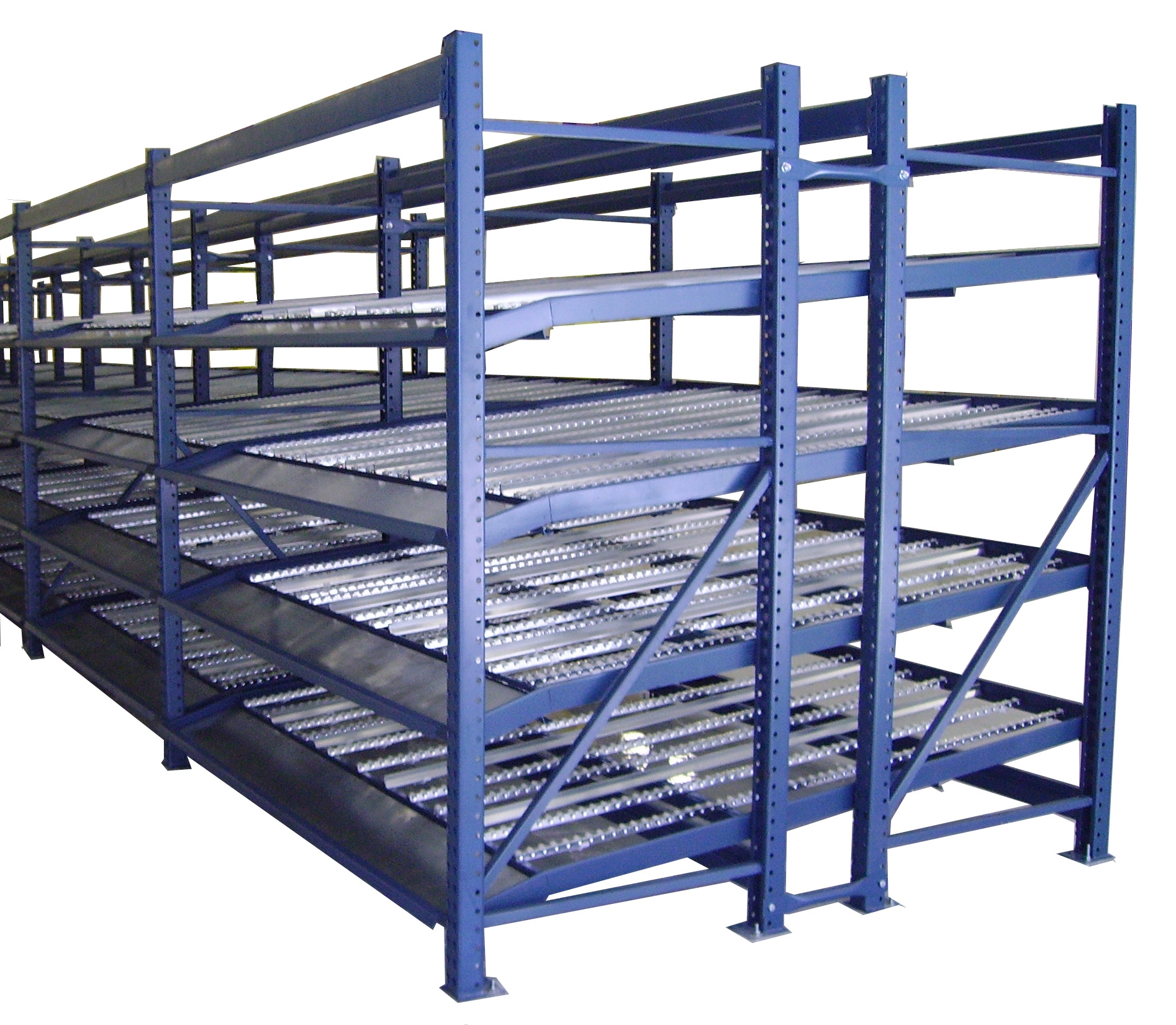 Carton Flow Racks Custom Equipment Company Ceccustom