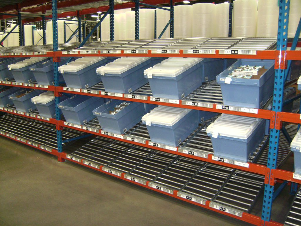 Carton Flow Racks Custom Equipment Company Ceccustom