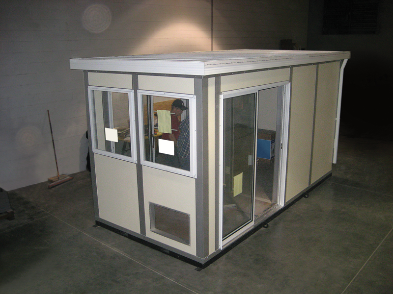 Inplant Preassembled guard house booth
