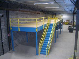 Mezzanine Free Standing