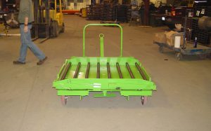 Tugger Cart with conveyor