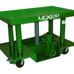 Lexco® Foot Operated or Powered Portable Hydraulic Lift Table