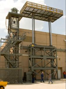 Vertical Ram Platform Lifts
