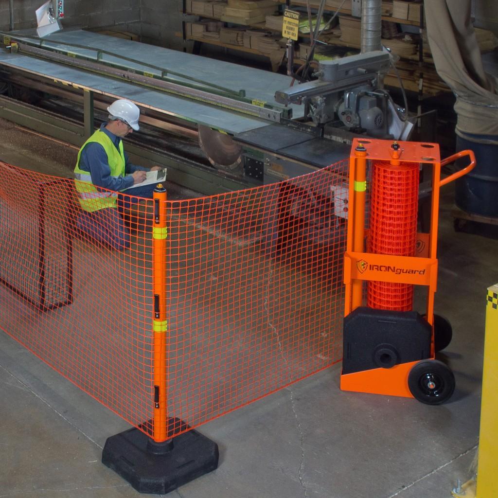 Indoor Portable Barrier