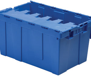 Attached Lid Tote