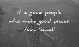 Good Attitudes Make a Good World Quote