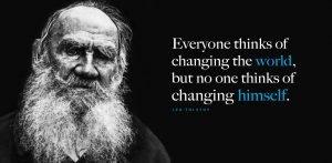 Environmental Quote Tolstoy