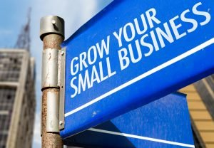 Grow Your Small Business Sign