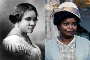 Madam CJ Walker in Comparison to Octavia Spencer