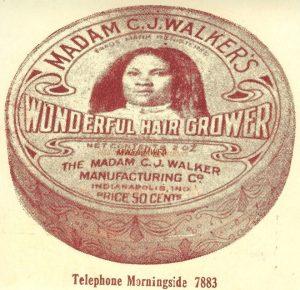 Madam Walker's Wonderful Hair Grower