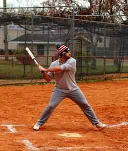 Male Softball Palyer