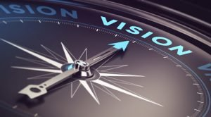 Compass Pointing to Vision